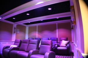 iHome Systems Custom Home Theater Installation