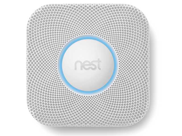 Nest Smoke/CO2 detector